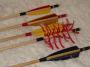 Íjászati eszközök, tollak, nokkok, hegyek, testek, faragók